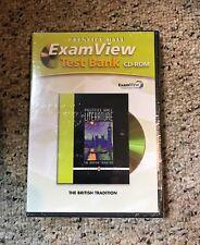 PRENTICE HALL British LITERATURE EXAM VIEW TEST BANK CD ROM 2007