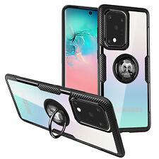 Samsung Galaxy S20,S20 Plus,S20 Ultra Clear Case Mosafe® Ring Holder Stand Cover