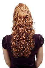 volumineux amples POSTICHE / TRESSE, bouclée, très long , Blond 60 cm n310-27c