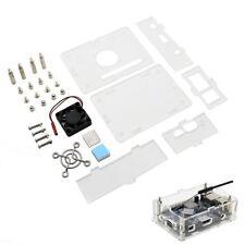Arcylic Case + Cooling Fan + Heat Sink Kit for Orange Pi PC / PC2 / PC Plus