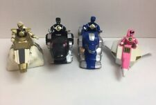 1995 Mighty Morphin Power Rangers Ninja Zords Lot Of 4
