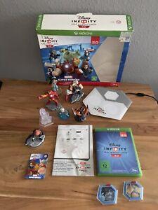 Disney Infinity 2.0 XBox One Starter SET /  SPIEL / CD / Figur + extra Figuren