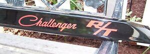 Dodge Challenger RT Rear Trunk Deck Lid Spoiler Air Dam Black 2009-2014 Mopar