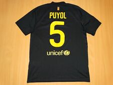 BARCELONA 2011 PUYOL Away shirt M MEDIUM jersey camiseta 2012 soccer footbal