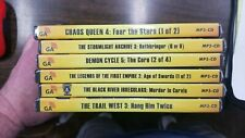 Graphic Audio Lot of 6 MP3-CD NEW Stormlight Archive Chaos Queen + FREE US Ship