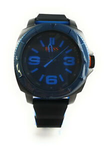 Hugo Boss Orange Armbanduhr Sao Paulo Herren Silikonarmband schwarz/blau 1513108
