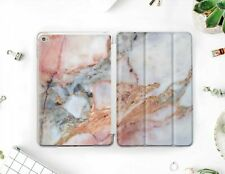 "Pink Marble iPad Mini 2 3 4 Air 3 2019 Pro 12.9"" 2018 9.7 10.5 Smart Cover Case"