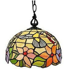 Amora Lighting Hummingbird Glass Light Fixture - AM1082HL12 - Sealed New