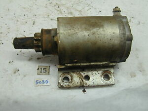 Kohler 301S 12HP OEM - Starter