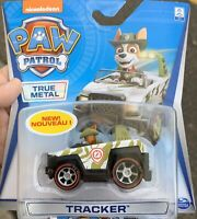 Paw Patrol True Metal Die Cast Character Cars Race Rescue Tracker