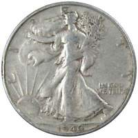 1946 S Liberty Walking Half Dollar AG About Good 90% Silver 50c US Coin