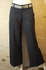 MORGAN Taille 34   Superbe pantalon  femme noir   trousers hose