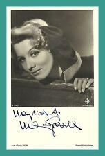 MADY RAHL | Schauspielerin | Original-Autogramm auf FFV-Starpostkarte