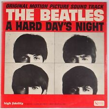 BEATLES: Hard Day's Night MONO UAL VG++ United Artists BEAUTY I CRY INSTEAD