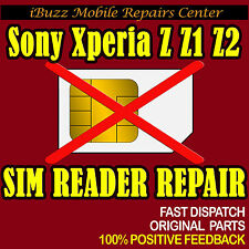 Sony Xperia Z Z1 Z2 SIM READER REPLACEMENT REPAIR SERVICE