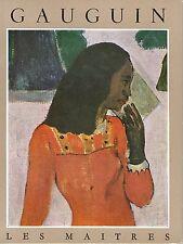 GAUGUIN - Collection les Maîtres - éd. Braun 1953