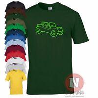 Beach buggy T-shirt retro cool Vdub Beetle dune car funny tee teeshirt