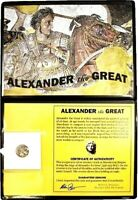 The Legacy of Alexander the Great Silver Drachm Coin & Album,Story Certificate