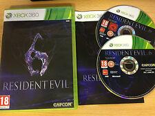 XBOX 360 : resident evil 6