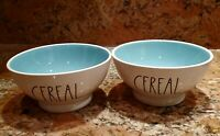 "Rae Dunn Artisan Collection By Magenta ""Cereal ""Ceramic Bowl. Set Of 2"