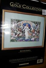 Rare Dimensions Mother Earth Cross Stitch SEALED