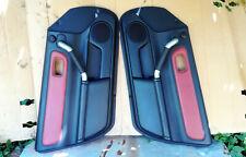 Toyota MR2 Spyder MR-S 05 Door Panels Red Leather Trim JDM TRD ZZW30 1ZZ-FE VVTI