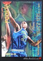 Kevin Garnett 1995-96 Fleer Basketball Rookie Card #293 Minnesota Timberwolves