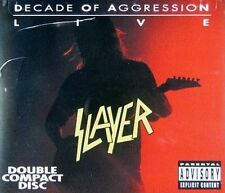 Decade of Aggression: Live [PA] by Slayer (CD, Mar-2002, 2 Discs, Universal Distribution)