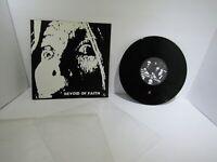 "Devoid Of Faith : Self Titled Mini Album Anomie Records PUT 006 LP 10"" Grade: VG"