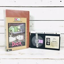 D.O.A. A Right Of Passage Betamax Video Beta Tape Beta Max Movie The Sex Pistols