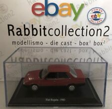 "DIE CAST "" FIAT REGATA - 1983 "" + TECA RIGIDA BOX 2 SCALA 1/43"