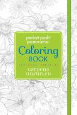 Pocket Posh Panorama Coloring Book : Gardens Unfurled by Andrews McMeel...