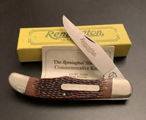 🔥 NIB 1990 Remington 11-87 870 Pump Folding Hunting Knife Box Paperwork