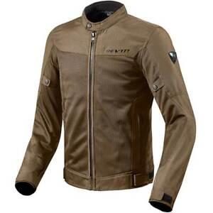 Rev'it! Eclipse Summer Vented Mesh Textile Motorcycle Bike Jacket Brown   Revit
