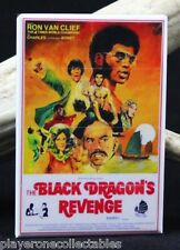 "The Black Dragon's Revenge Movie Poster 2"" X 3"" Fridge Magnet. Kung Fu Classic"