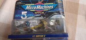 Babylon 5 Micro MachinesSet #1 Die Cast Minatures -