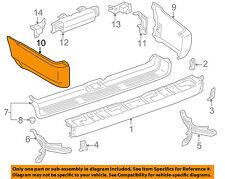 TOYOTA OEM 96-02 4Runner Rear Bumper-Extension Left 5210735051