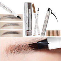 Microblading Eyebrow Tattoo Pen Fork Tip Sketch Eye Brow Pencil Makeup Ink Pen