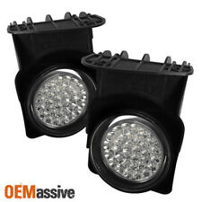 2003-2006 GMC Sierra Hyper White Full LED Fog Lights Lamp +Switch Left+Right