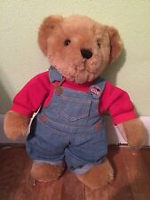 """Heartbeat Dex Little Cub Cola Bear Plush Sound Baby Stuffed Animal 18"""" Soother"""