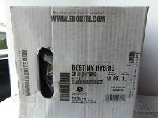 Nib Ebonite Destiny Hybrid 10lb Undrilled Bowling Ball Free Shipping New in Box