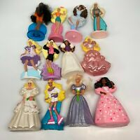 Lot of 12 Barbie MCDONALD'S HAPPY MEAL TOYS 1989-1992 Brides Ballerina Etc