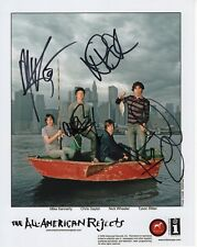 ALL-AMERICAN REJECTS HAND SIGNED 8x10 GROUP PHOTO+COA            AWESOME BAND