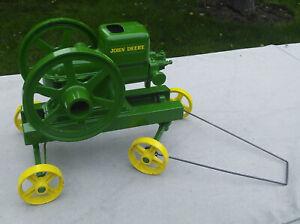 "Ertl John Deere Model ""E"" Hit and Miss Engine 1/6 Scale 4350 Rotating Fly Wheel"