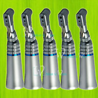 5pcs Dental Low Speed Handpiece Contra Angle Latch Nose Cone Fit NSK 2.35mm Bur