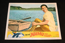 1966 Namu The Killer Whale Lobby Card 66/261 #2 Ivan Tors (C-6)