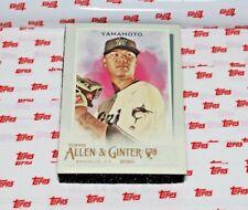 2020 Topps Allen and Ginter Hot Box Silver #229 Jordan Yamamoto RC
