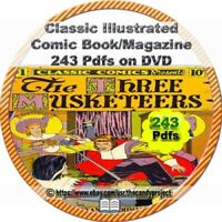 243 PDFs Classic Illustrated Comic Magazine Literary Novels Juniors also DVD