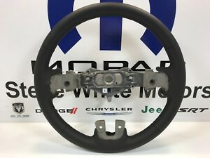 12-14 Dodge Charger Leather Wrapped Steering Wheel Factory Mopar OEM New
