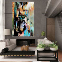 LMOP66 naked Girl 100% handmade-painted ABSTRACT decor ART OIL PAINTING CANVAS